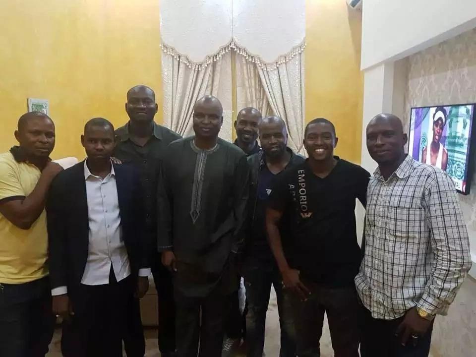Abba Kyari hangs out with his top team in Kaduna image